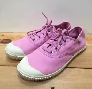 Keen 100% Vulcanized Laced Pink Canvas Women s Sneakers US Size 4  c95d8c69d