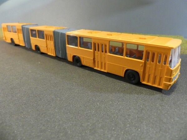 1 1 1 87 SES Ikarus 293 Doppel-Gelenkbus orange 14130703 7a98be