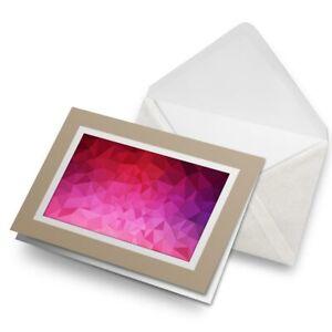 Greetings-Card-Biege-Pink-Purple-Abstract-Pattern-Art-14843