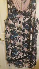 Womens Special Occasion Floral Dress 24W - NWT