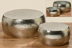 ANGEBOT-2x-Tisch-Selina-Alu-silber-50-78-cm-Dekoration-UVP-Set-429-99-2