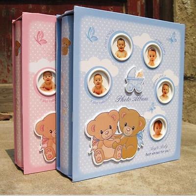 """Sweet Baby"" 1pc Slip-In Photo Album Baby Kids Cute Photo Album Hold 200 Photos"