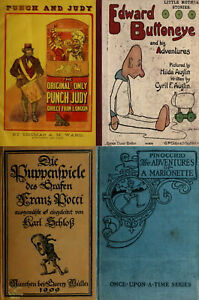 45-OLD-RARE-BOOKS-ON-ANTIQUE-DOLLS-MARIONETTE-PUPPET-DOLL-MAKING-amp-MORE-ON-DVD