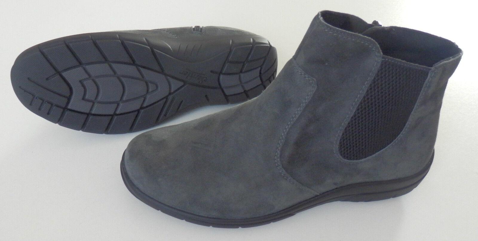 Chelsea Boot H Stiefelette Semler Weite H Boot grau  33 35,5 36 37,5 39 44 b4f046
