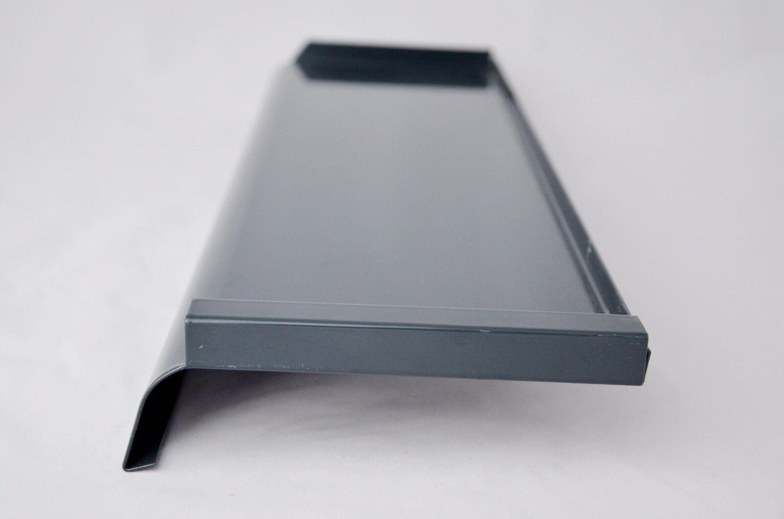 aluminium appui de fen tre t le fenstersims ext rieur bord gris anthracite ebay. Black Bedroom Furniture Sets. Home Design Ideas