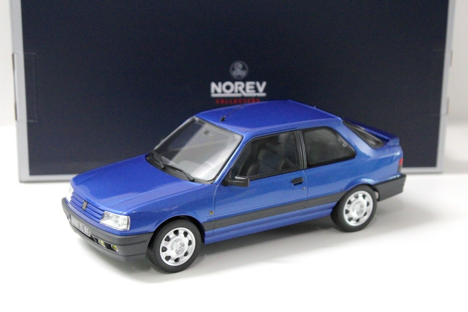 1 18 Norev Peugeot 309 GTI 16 Miami Blau 1991 NEW bei PREMIUM-MODELCARS