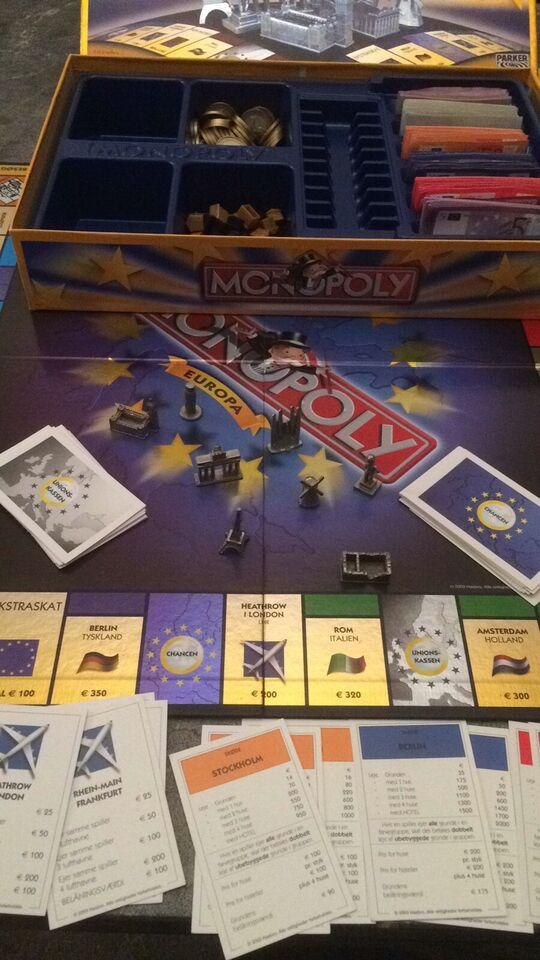 Andet legetøj, MonopolyEuropa, Monopoly