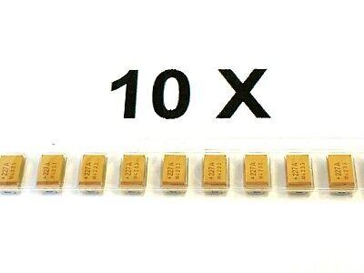 tantalio 10/% AVX 10 pezzi SMD low ESR 10v 220uf 220µf TPSD 227k010r0150 BF =d