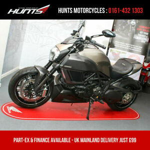 2015 '15 Ducati Diavel Titanium Limited Edition. Only 1,206 Miles. £12,995