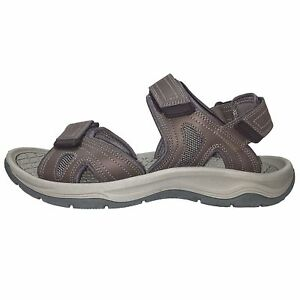 Men's Eddie Bauer Sandals New Taupe 3 Strap River Sandals Size 8M New W/out Tags