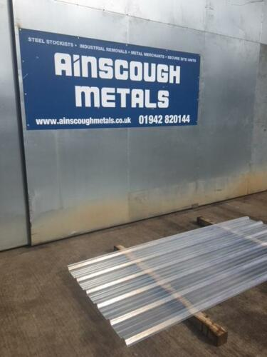 Clear Box Profile Roof Lights 2.500 Mtr x 1.000 Mtr Cover