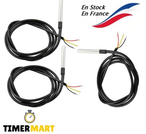 DS18B20 1m Câble Capteur de Température numérique TO92-55 -+125°C pour Arduino  | eBay