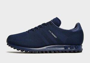 The Adidas Originals La Trainer Weave Blue {Forum Aden}