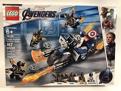 Lego Marvel Avengers Captain America cavaliers attaque Building Set 76123