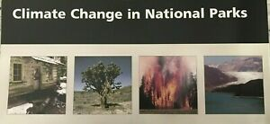 New CLIMATE CHANGE in NP  NATIONAL PARK SERVICE BROCHURE MAP  Unigrid  #B