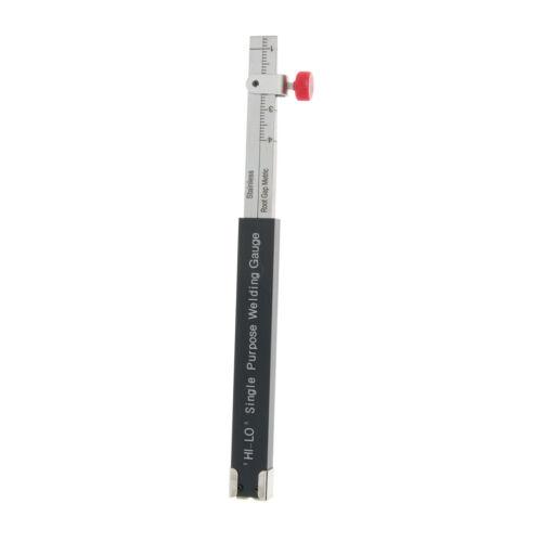 Single Purpose Hi-Lo Welding Gauge Gage Misalignment Inspection Tool w// Clip