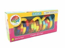 3 Pack Classic Tangle Jr Brain Tool Set  Fidget Toy Special Needs Autism ADHD
