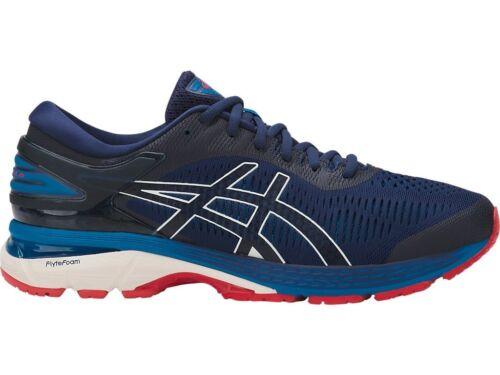 Asics Gel-Kayano 25 Indigo Blue Cream Men Running Shoes D Width 1011A019-400