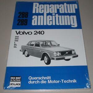 Reparaturanleitung Volvo 240 242 244 245 L Gl Bucheli Neu Dl Farben Sind AuffäLlig