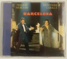 Freddie Mercury & Montserrat Caballé Barcelona Cd-single UK 1992