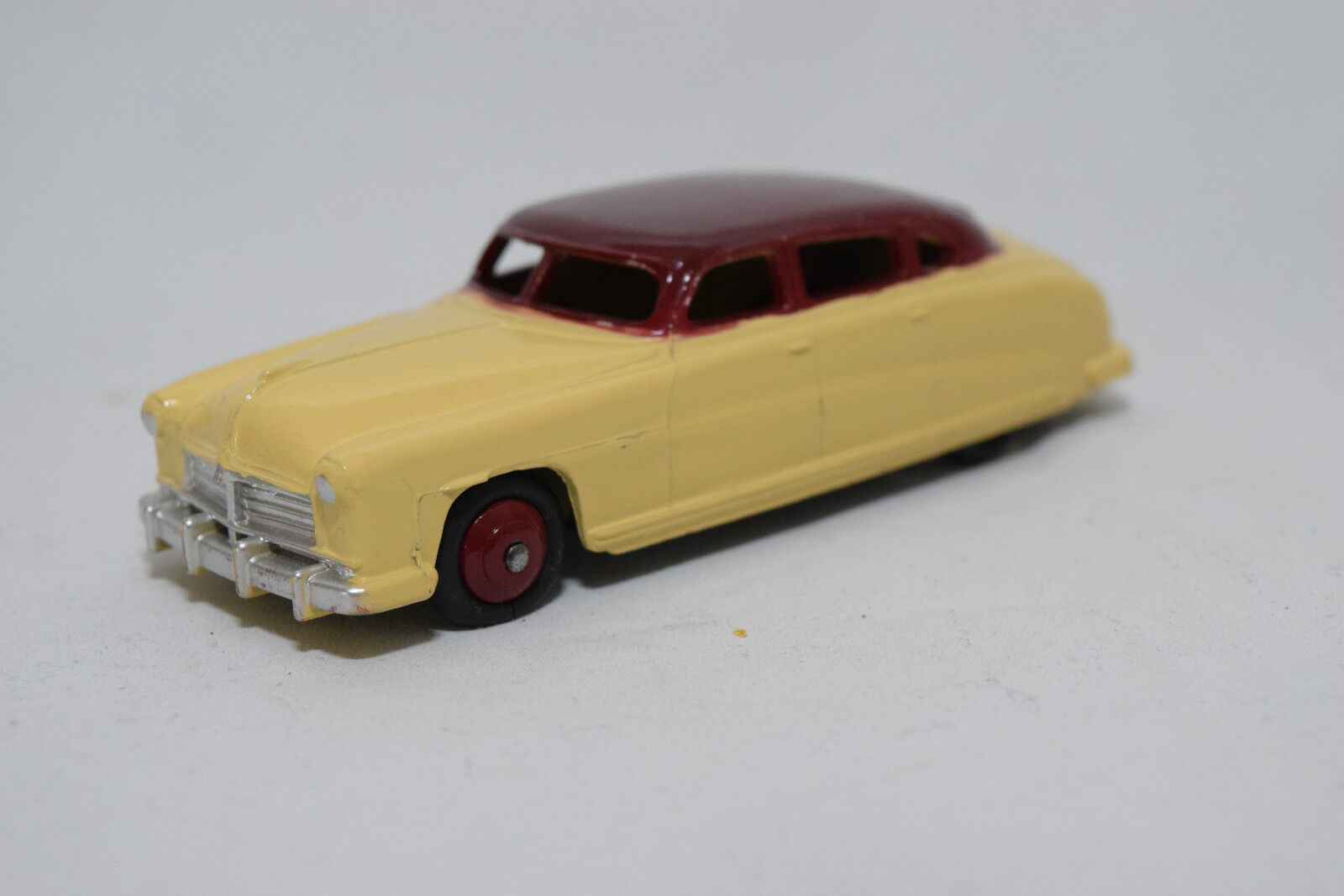 P DINKY TOYS 139b 139 B 171 Hudson Commodore Berline Cream Bordeaux VN Comme neuf RARE