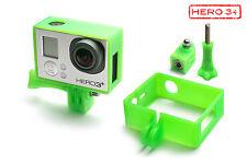 Frame Mount Tripod Mount f. GoPro HD HERO 3+ Black Zubehör Stativ Adapter Green