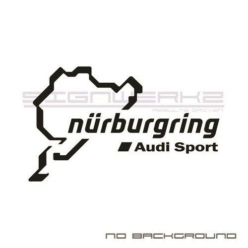 Audi Sport Nurburgring Decal Sticker Logo A4 S4 S3 S5 A5