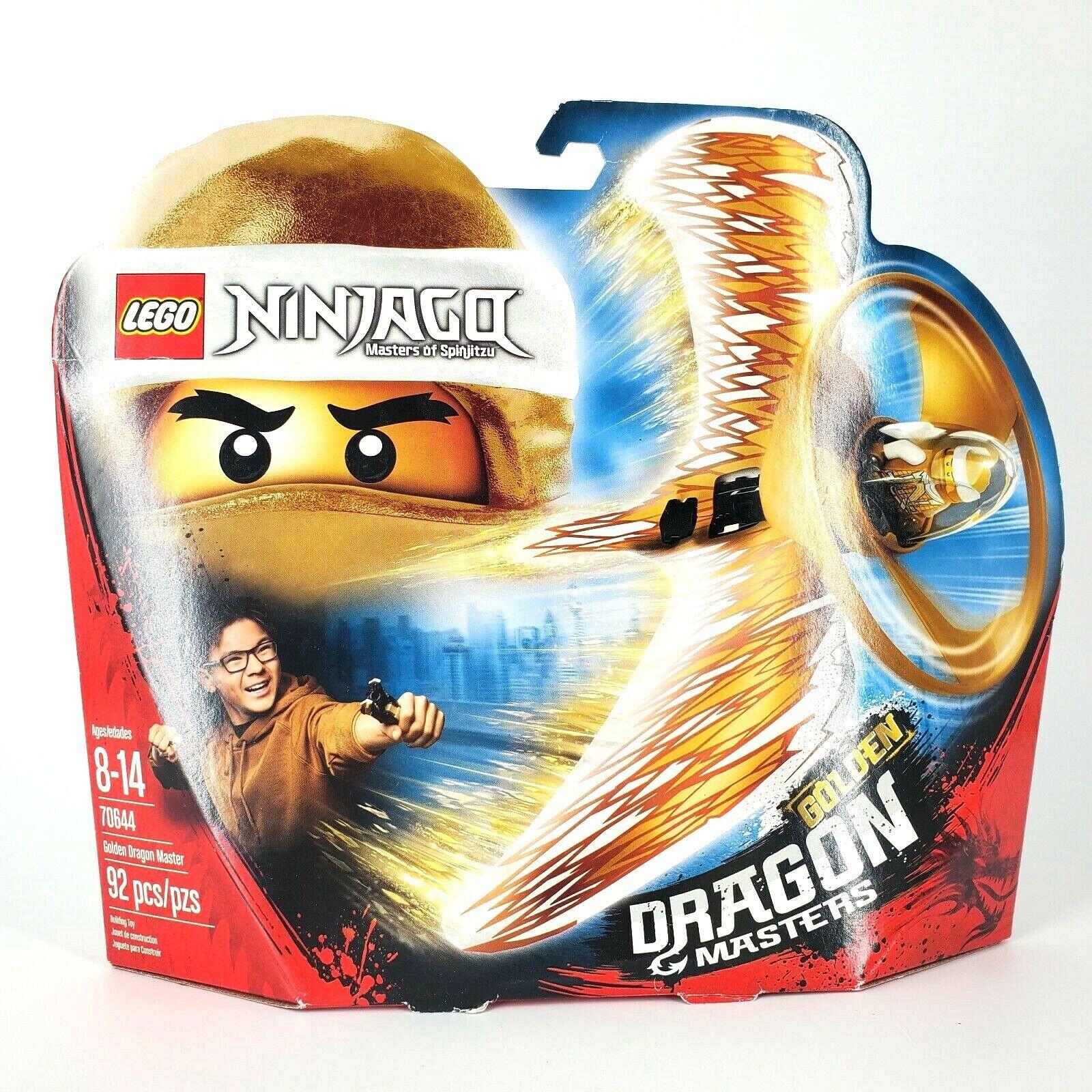 Lego ninjago golden dragon master 70644 golden dragon bourne