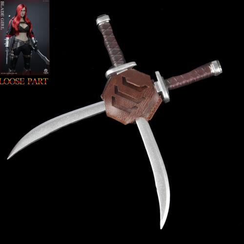 FIGURECOSER COS001 1//6 FC Blade Girl Union Female Red Hair Assassin Back Swords