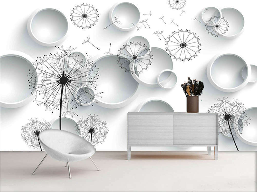 Hyaline Pulpy Drop 3D Full Wall Mural Photo Wallpaper Printing Home Kids Decor