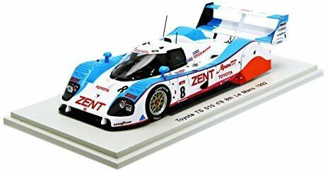 Toyota Ts 010  8 8th Lm 1992 Lammers / Fabi / Wallace 1:43 Model SPARK MODEL