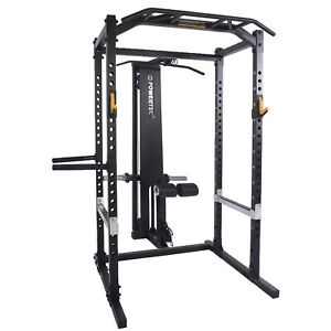 Tec Rack System With Lat Pulldown Squat