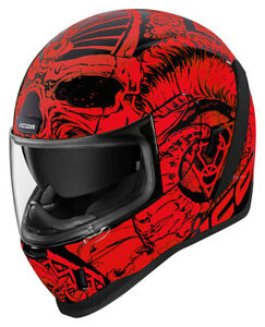 Icon-Motosports-Airform-SACROSANCT-Full-Face-Helmet-Red-Choose-Size