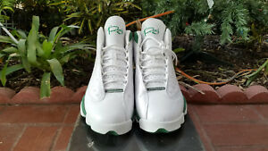 2516102a765 Nike Air Jordan retro XIII 13 Ray Allen PE white clover green 414571 ...