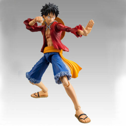 One Piece PVC Action Figure Toy  Anime Figma Straw Hat Monkey D Luffy Figurine