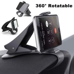 Smart-Phone-Holder-GPS-Dashboard-Mount-Clip-on-Bracket-in-Car