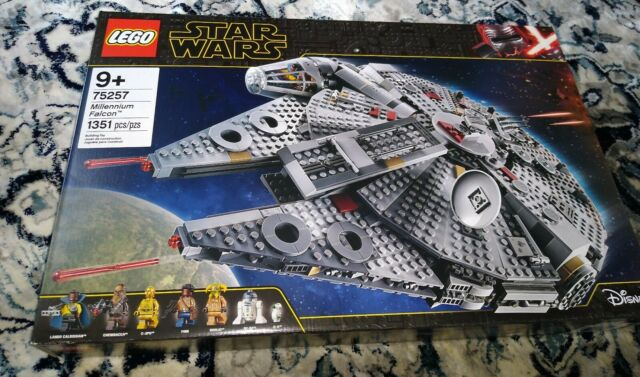 Lego Star Wars The Rise Of Skywalker Millennium Falcon 75257 Building Kit 1351pc For Sale Online Ebay