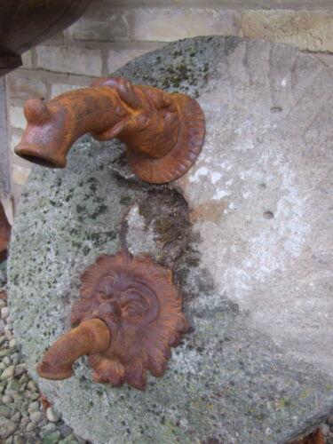 f Wandbrunnen Brunnenauslauf Fabelfisch Auslauf Wasserspeier