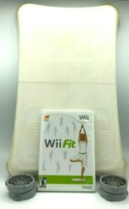 Nintendo Wii Fit Game - Balance Board w/ silicone sleeve & 4 Carpet Adjustments