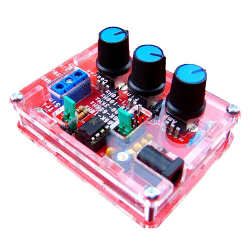 1X Xr2206 Funktionsgenerator Signalgenerator Sinus Rechteck 1Hz - 1Mhz Rot E7S2