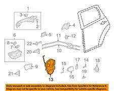 acura honda oem 10 13 mdx rear door lock actuator 72610stxa13 ebay