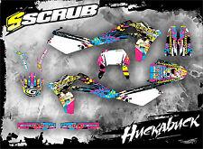 SCRUB Husqvarna  SMR 450-510 2005-2007 '05 '07 Grafik Dekor-Set