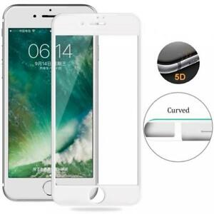 iPHONE-6-6S-7-8-5D-FULL-COVER-TEMPERED-GLASS-SCREEN-PROTECTOR-9H-TOUGH-WHITE