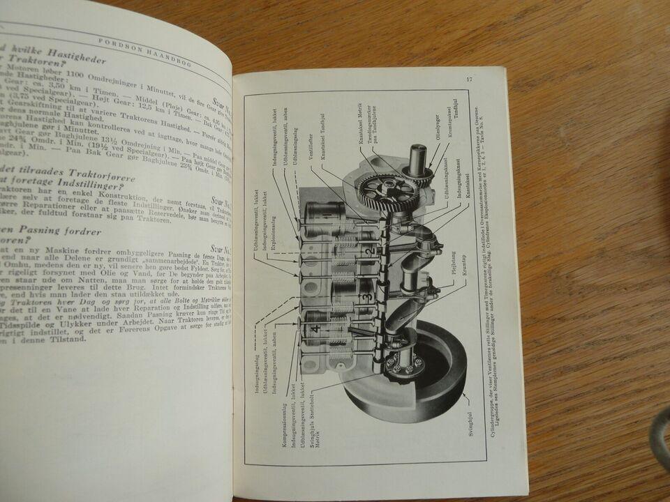Traktor håndbog, Fordson
