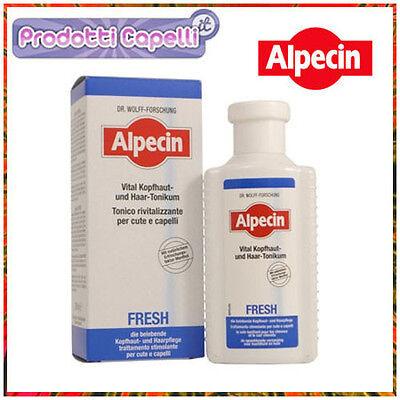 Tonico Rivitalizzante ALPECIN FRESH trattamento stimolante cute e capelli