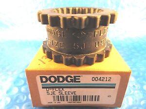 Dodge 004212 D-Flex Rubber Insert Size 5J; Type JE Coupling 5JE Sleeve