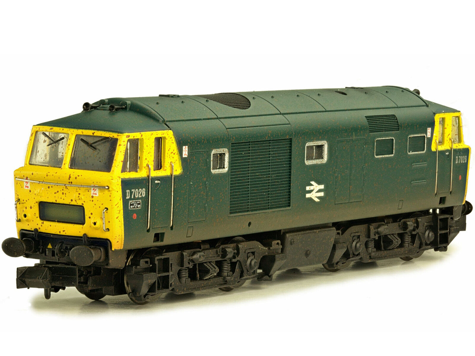Dapol 2D-018-002 - Diesellok Hymek D7026 BR Blau gealtert - Spur N - NEU