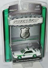 Greenlight GL Exclusive - FORD CROWN VICTORIA POLICE - Green Machine - 1:64