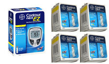 200 Contour Next Test Strips + Blood Glucose Meter – Full Starter Kit