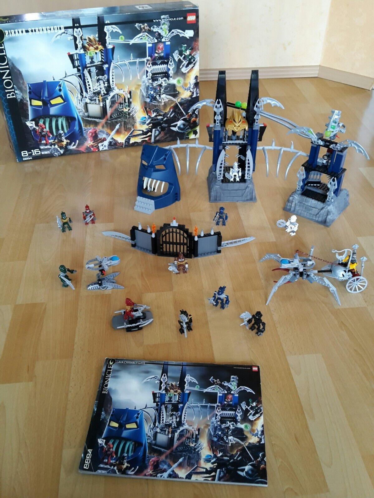 Lego 8894 Bionicle - Piraka Stronghold mit OVP und Bauanleitung